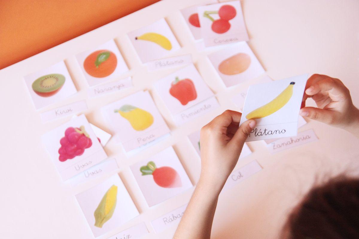 Tarjetas Montessori imprimibles