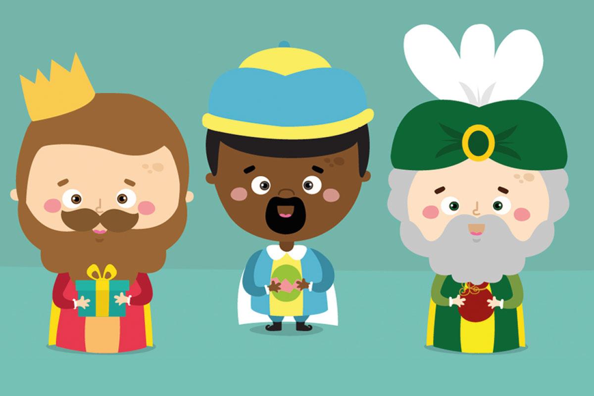 Dias De Reyes Magos Descargar cartas imprimibles para los reyes magos y papá noel - mumuchu
