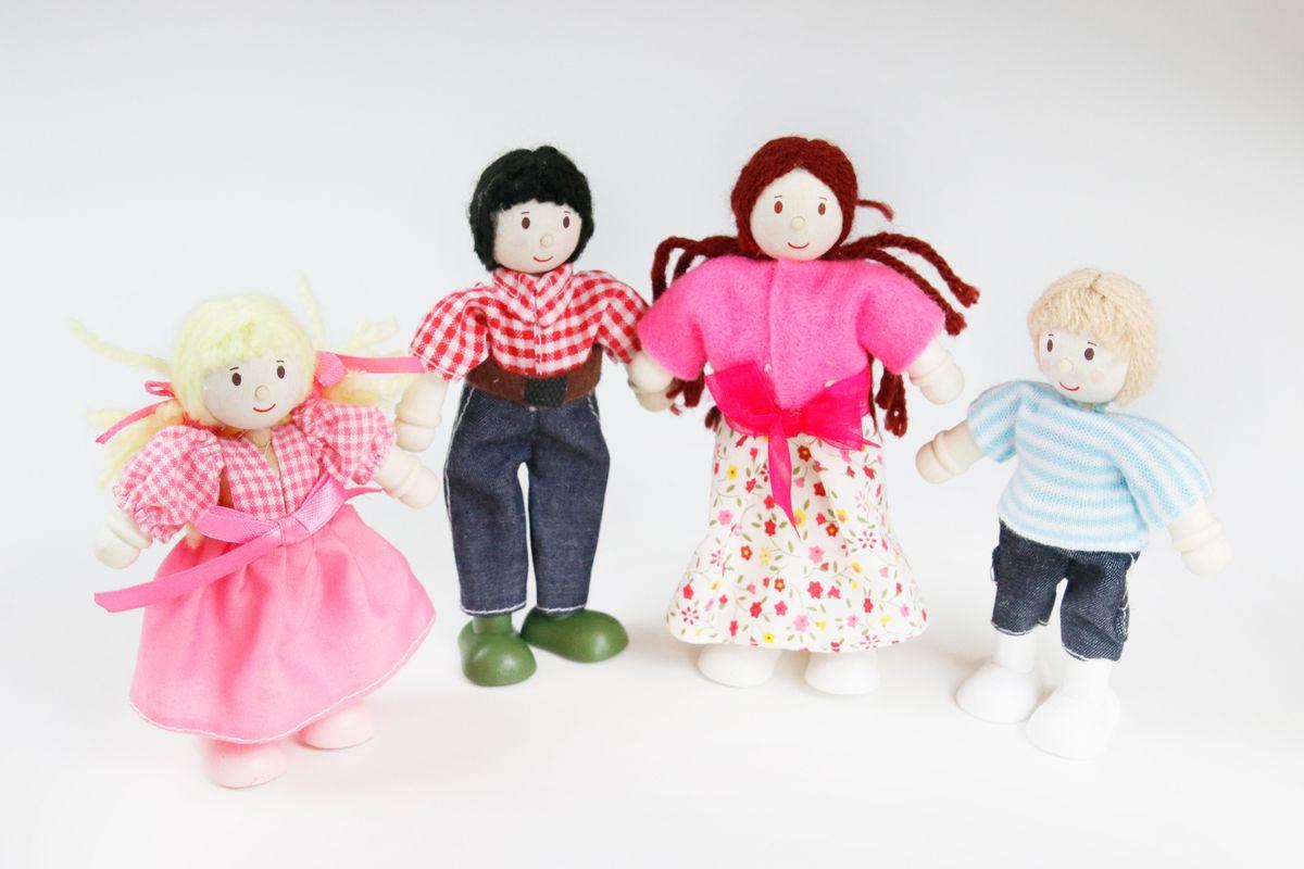 Familia para casa de muñecas Le Toy Van