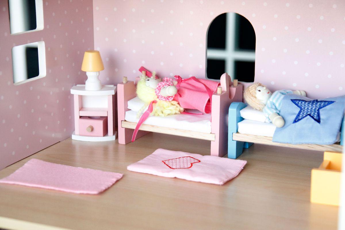 Dormitorio para casa muñecas