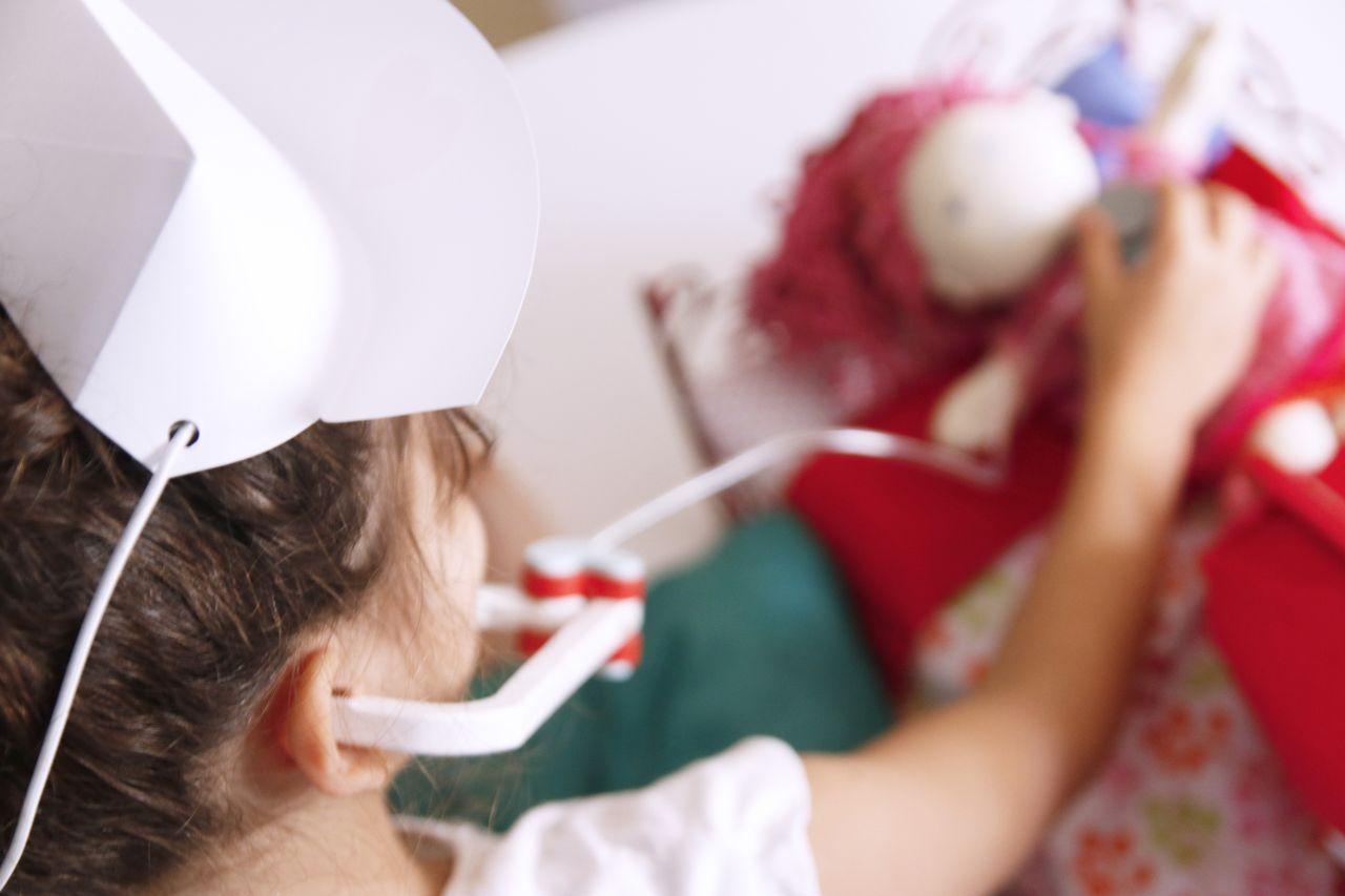 Estetoscopio de juguete para niños