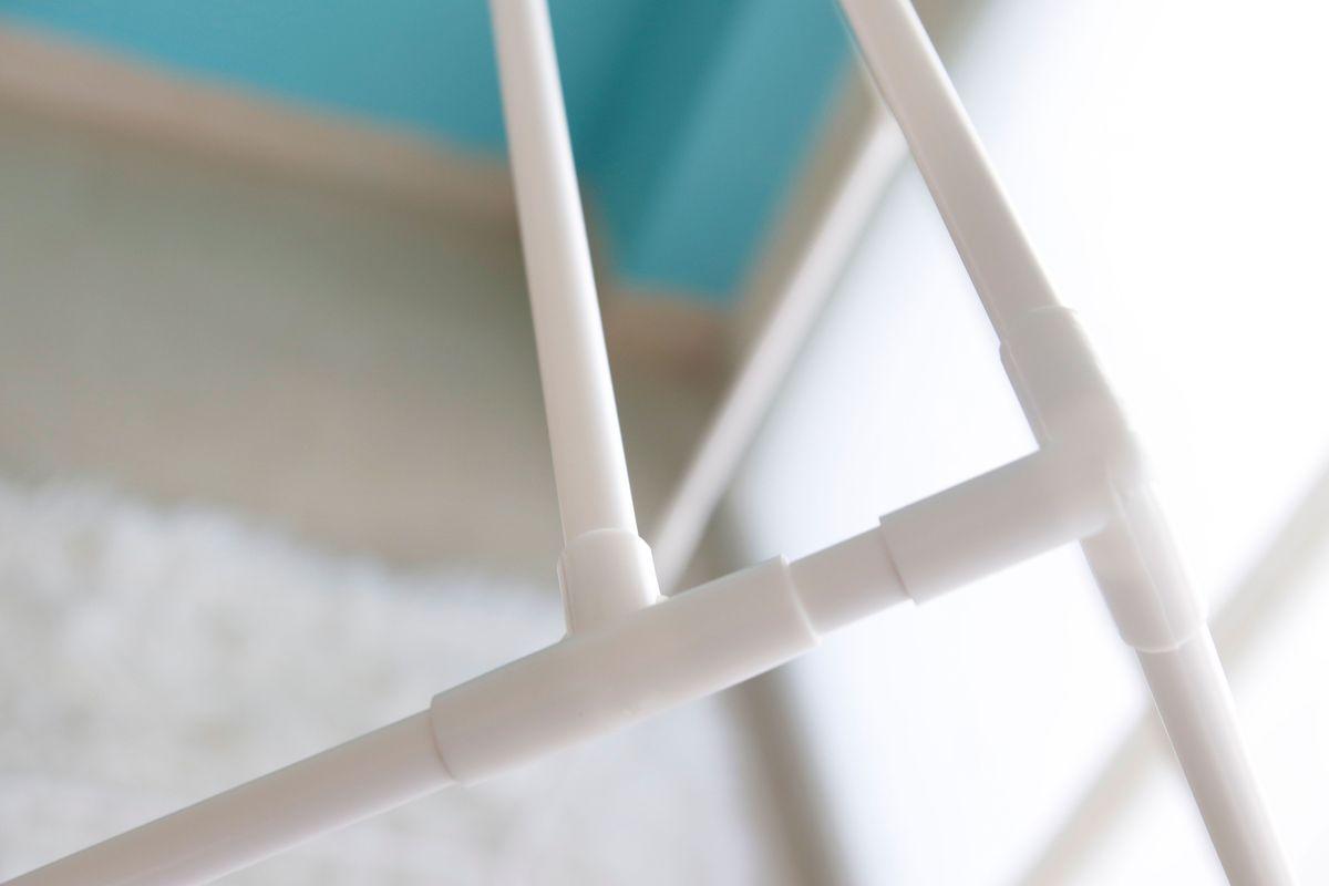 juntas de la estructura de la casa de tela