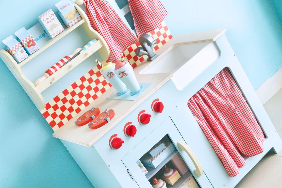 Cocina Le Toy Van Honeybake Azul