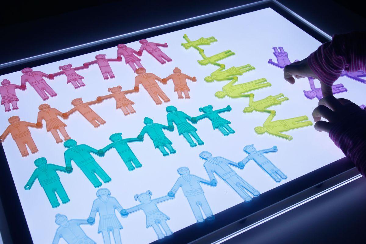 familias de silicona tickit por colores