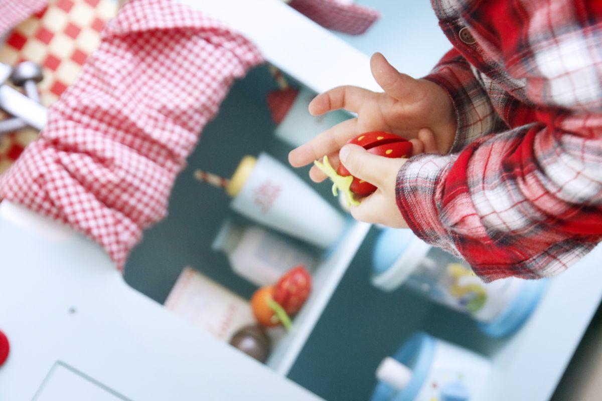 juntando una fresa de madera de la cocinita
