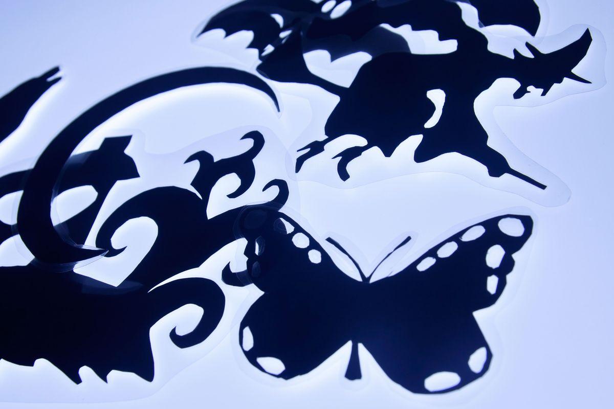 siluetas para el teatro de sombras plastificadas