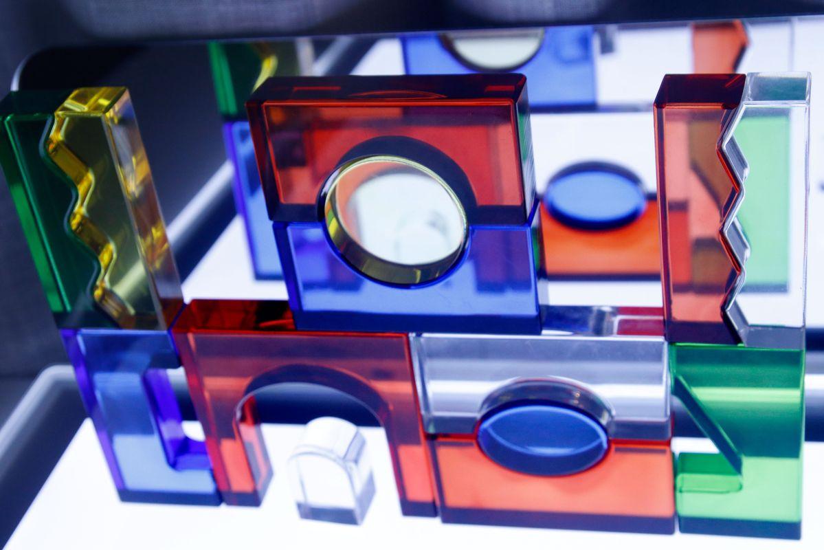 bloques acrílicos con espejo Tickit