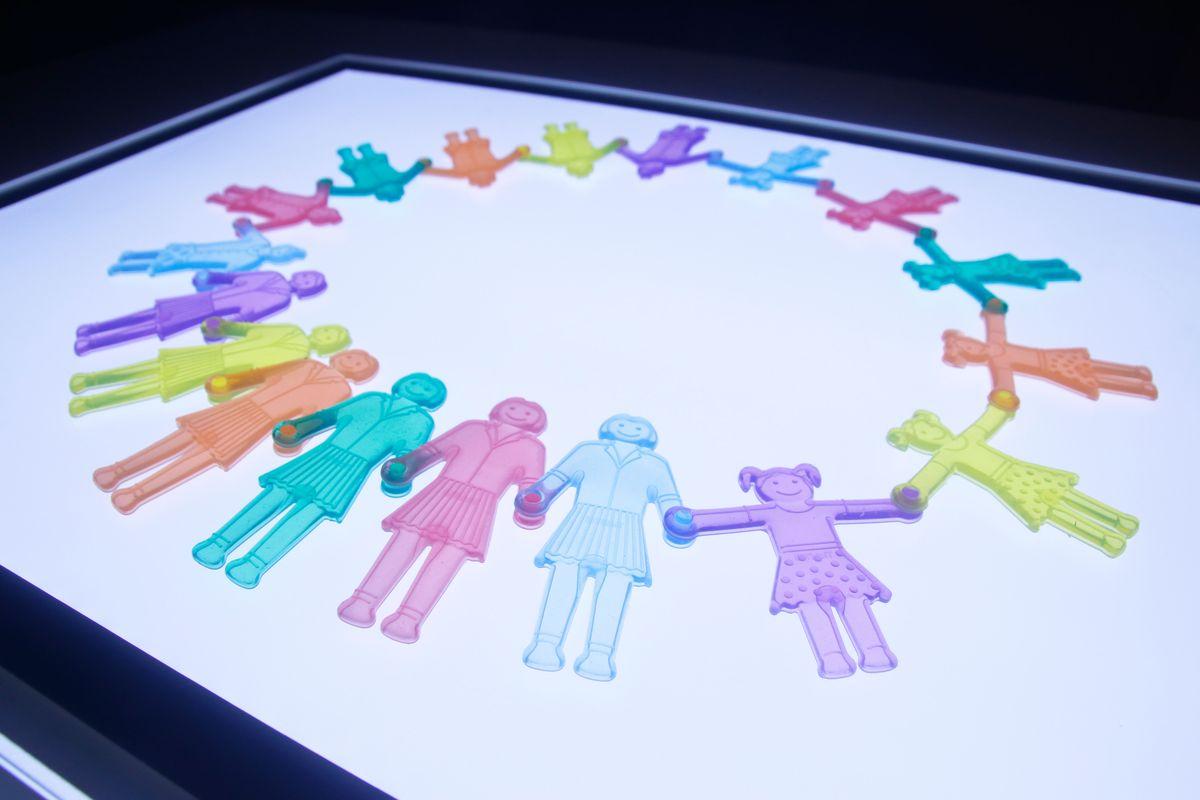 clasificando las familias por género femenino