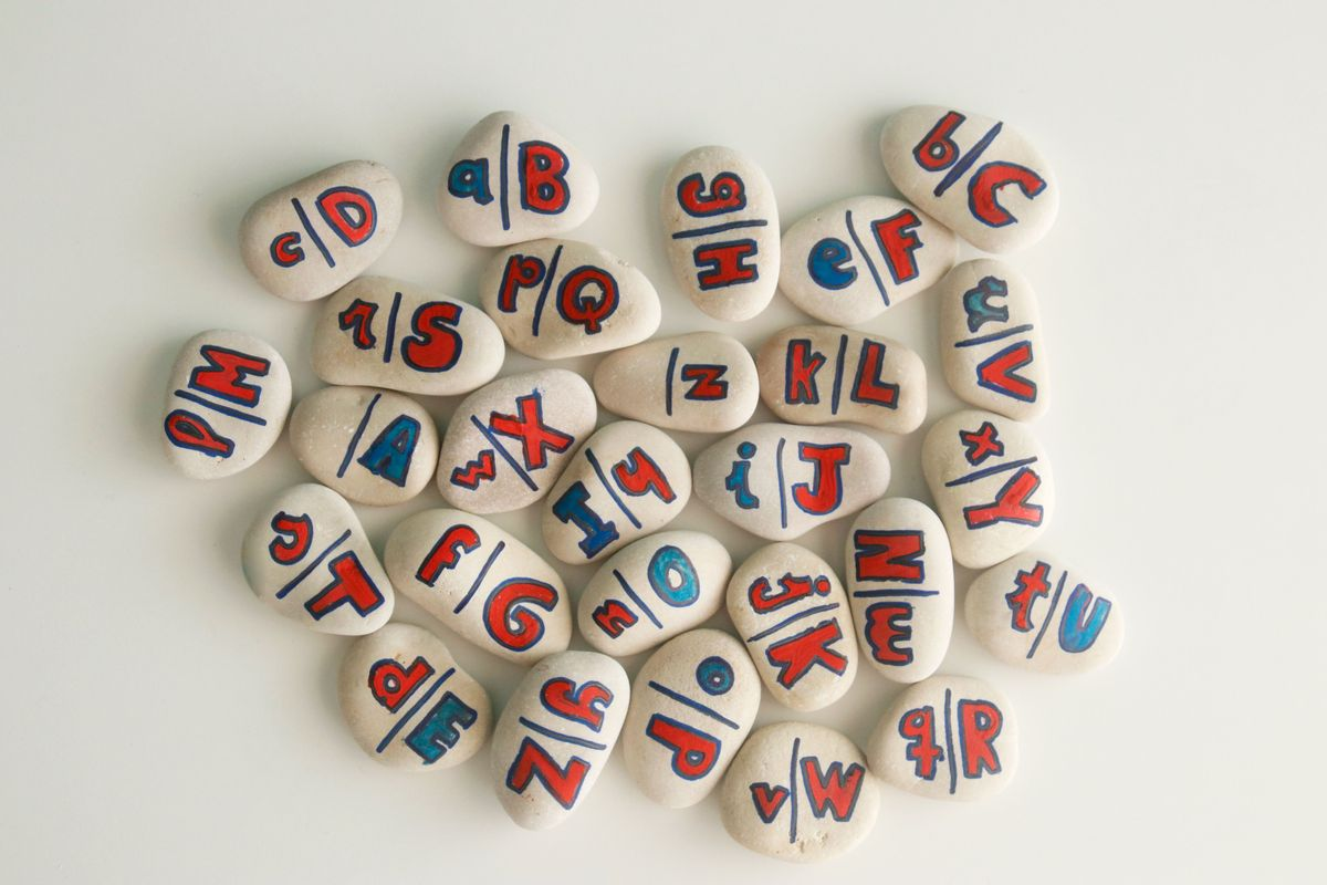 Dominó DIY alfabeto Montessori