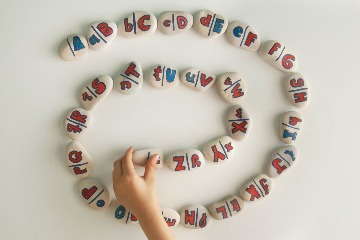 Dominó alfabeto Montessori