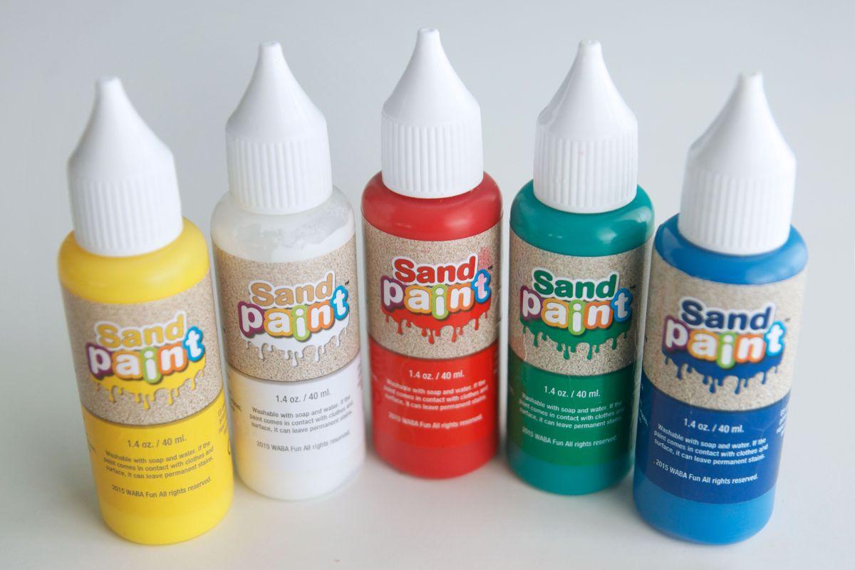 pintura para kinetic Sand