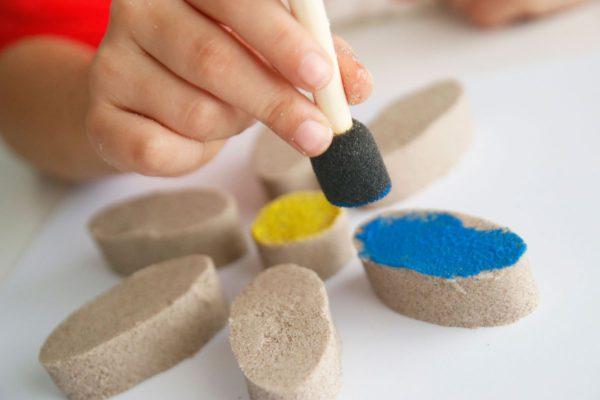 pintar kinetic sand