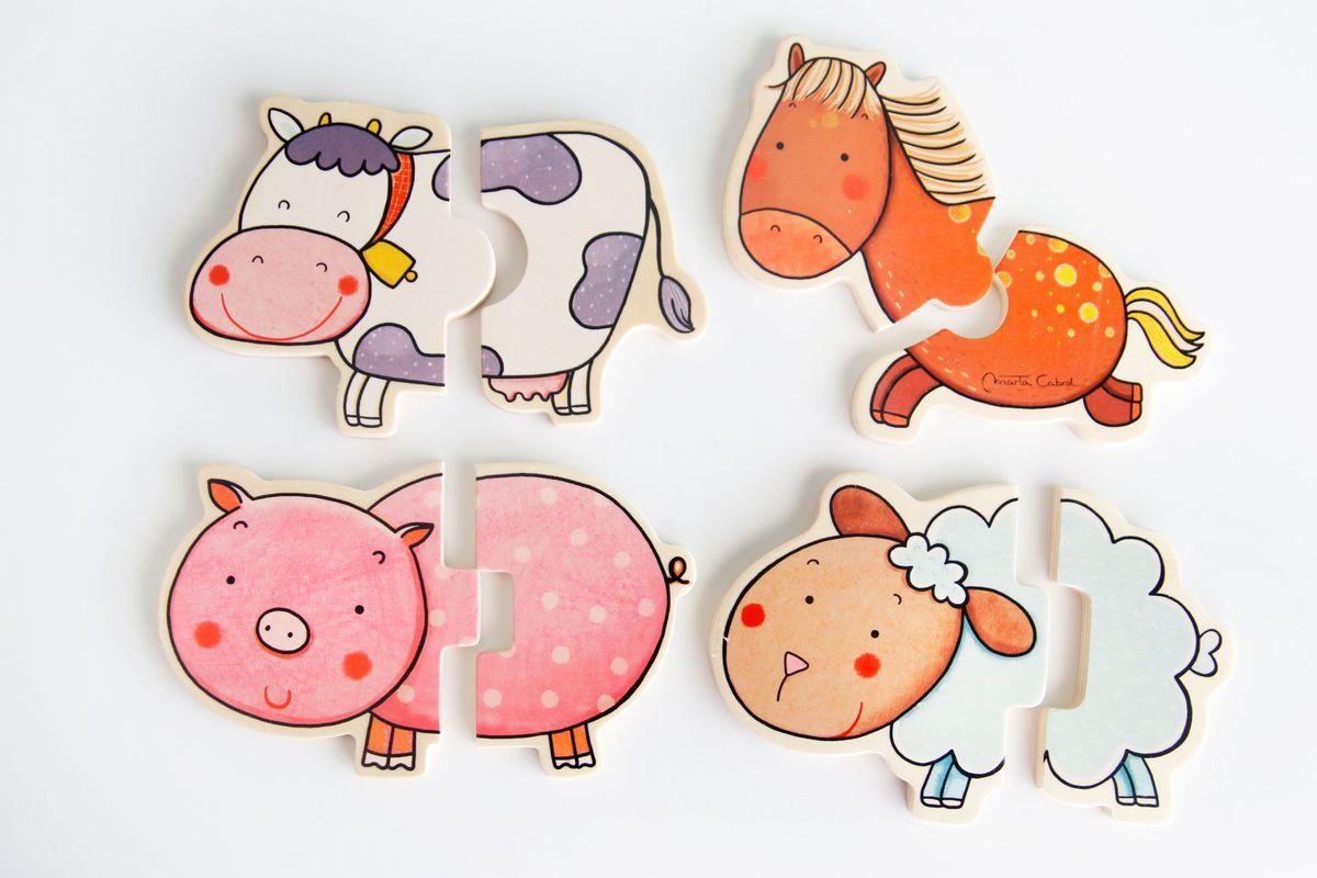 puzle-animales-granja