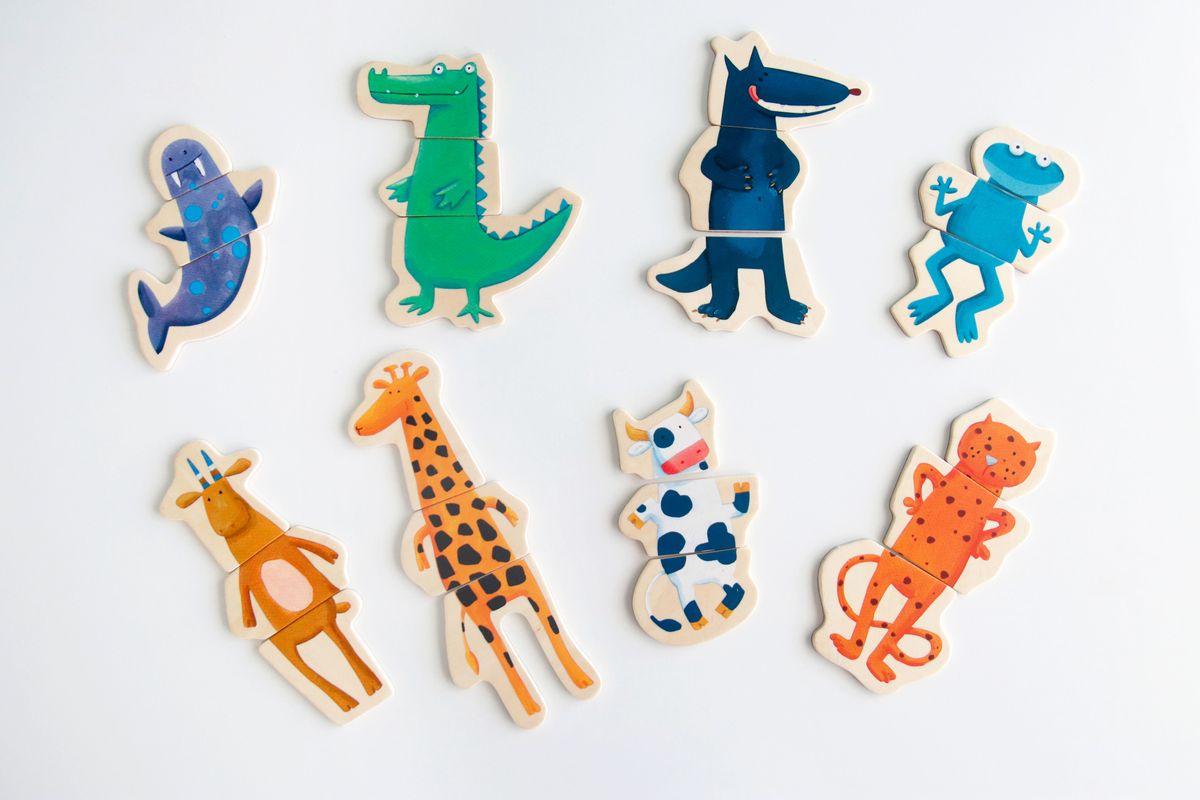 puzle-de-animales-de-madera-djeco