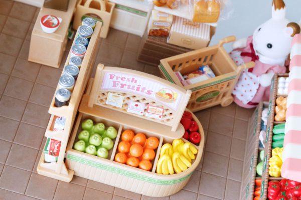 estanterías supermercado sylvanian
