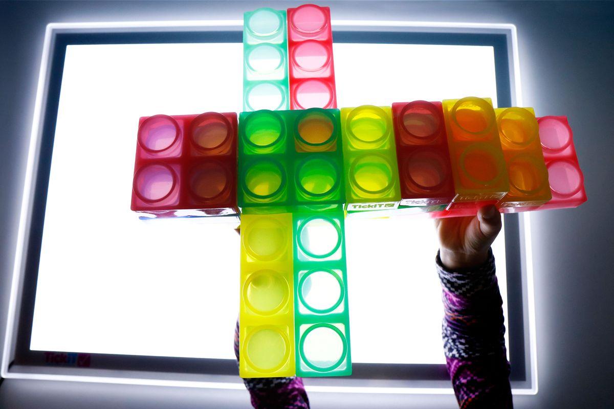 bloques de silicona para la mesa de luz avión