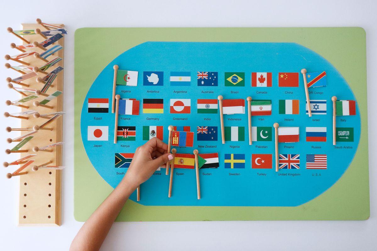 mapa-de-banderas-montessori-emparejar-banderas