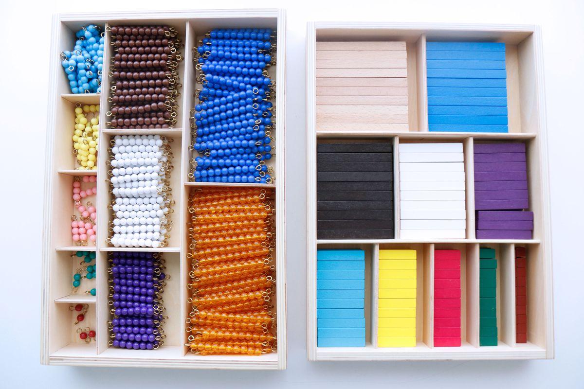 Regletas Montessori