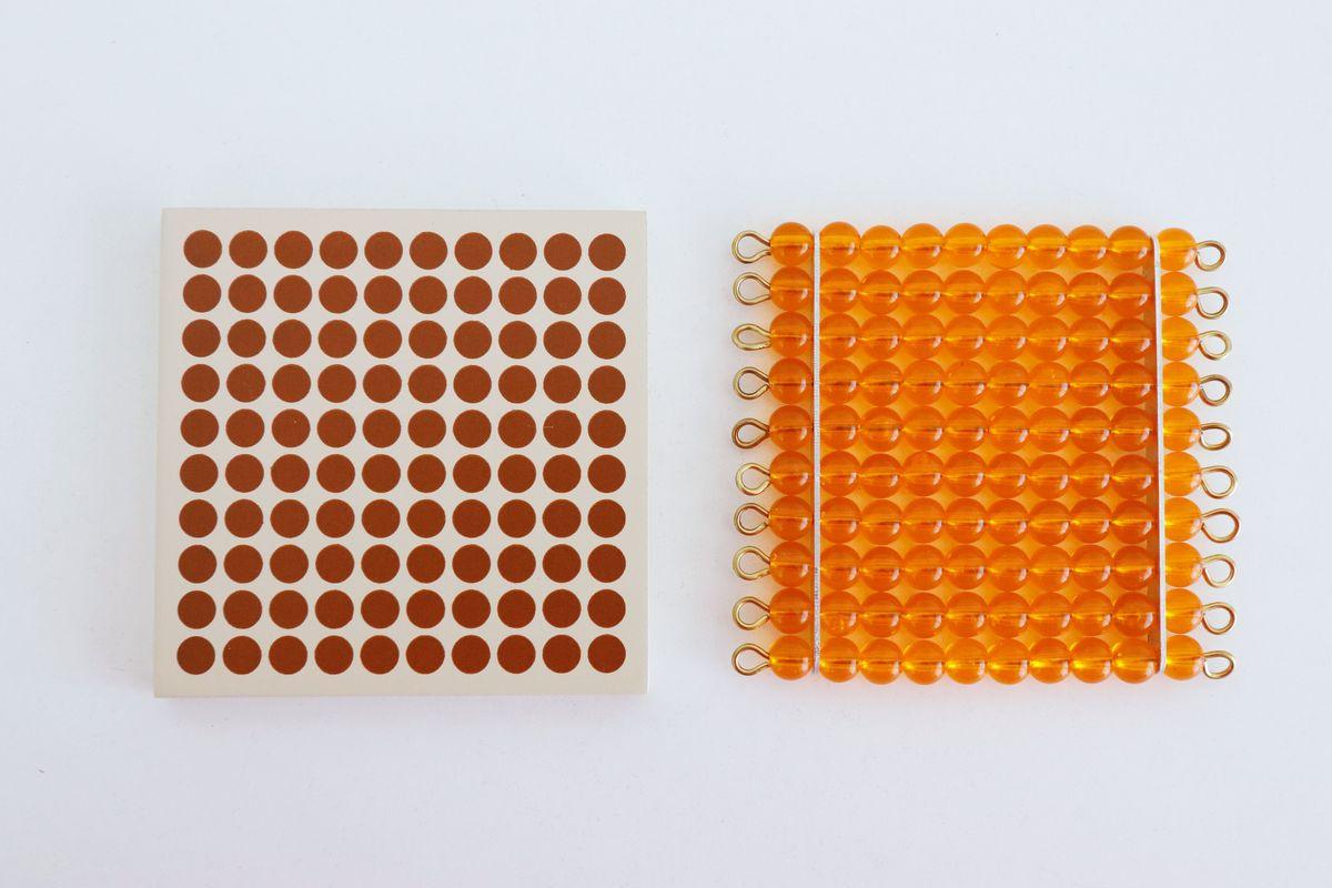 correspondencia-material-dorado-montessori-centena